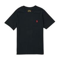 Vêtements Garçon T-shirts manches courtes Polo Ralph Lauren FANNY Noir