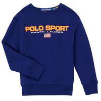 Vêtements Garçon Sweats Polo Ralph Lauren SENINA Marine