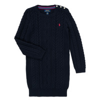 Vêtements Fille Robes courtes Polo Ralph Lauren RURBE Marine