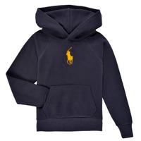Vêtements Garçon Sweats Polo Ralph Lauren YLLAN Marine