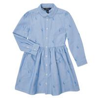 Vêtements Fille Robes courtes Polo Ralph Lauren KATINA Bleu