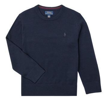 Vêtements Garçon Pulls Polo Ralph Lauren DENILA Marine