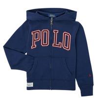 Vêtements Garçon Sweats Polo Ralph Lauren FERINA Marine