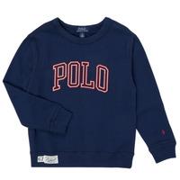 Vêtements Garçon Sweats Polo Ralph Lauren KAMILLAR Marine