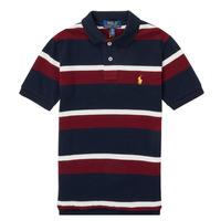 Vêtements Garçon Polos manches courtes Polo Ralph Lauren POLLONO Multicolore