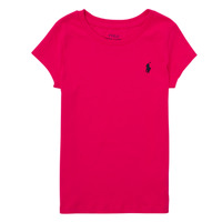 Vêtements Garçon T-shirts manches courtes Polo Ralph Lauren ASKIRA Rose