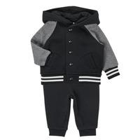 Vêtements Garçon Ensembles enfant Polo Ralph Lauren DENILO Noir / Gris
