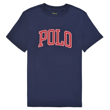 Vêtements Fille T-shirts manches courtes Polo Ralph Lauren MATIKA Marine