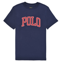 Vêtements Garçon T-shirts manches courtes Polo Ralph Lauren MALIKA Marine