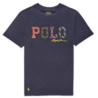 Vêtements Garçon T-shirts manches courtes Polo Ralph Lauren COLLINA Marine