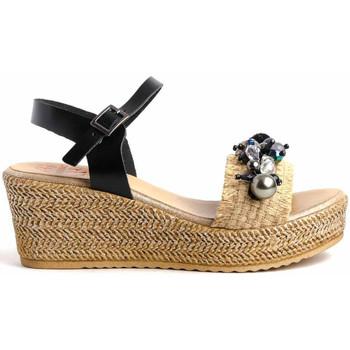 Chaussures Femme Sandales et Nu-pieds Porronet 2740 Noir