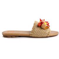 Chaussures Femme Mules Porronet 2704 Beige