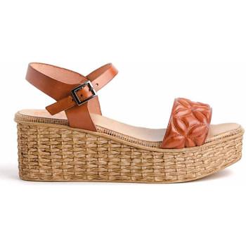 Chaussures Femme Sandales et Nu-pieds Porronet 2730 Marron