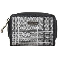 Sacs Femme Porte-monnaie Patrick Blanc Porte monnaie + cartes  toile grise déco argentée Multicolor