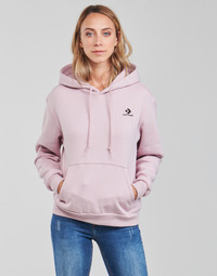 Vêtements Femme Sweats Converse WOMENS EMBROIDERED STAR CHEVRON PULLOVER HOODIE BB Violet