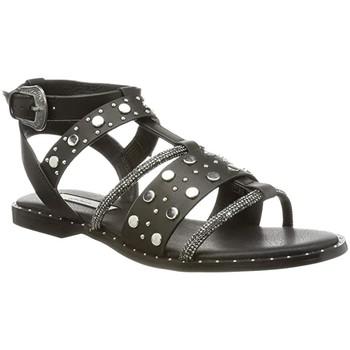 Chaussures Femme Sandales et Nu-pieds Pepe jeans Sandales plates  Hayes Rock Ref 53041 Black Noir