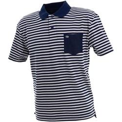 Vêtements Homme Polos manches courtes Culture Sud Daffiny polo h imp2 bleu Bleu moyen