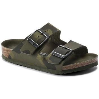 Chaussures Enfant Mules Birkenstock Sandale Vert