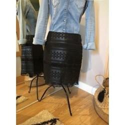 Vêtements Femme Jupes Etam Jupe droite Noir