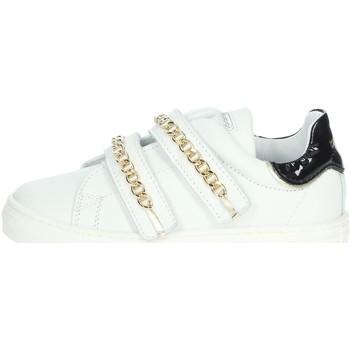 Chaussures Fille Baskets basses Balducci BUT1651B Blanc/Noir