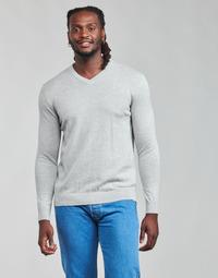 Vêtements Homme Pulls Esprit F PIMA V-NK Gris