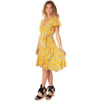 Vêtements Femme Robes courtes sous 30 jours femme Marika 8 Jaune