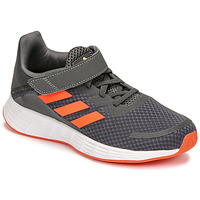 Chaussures Garçon Running / trail adidas Performance DURAMO SL C Gris / Rouge