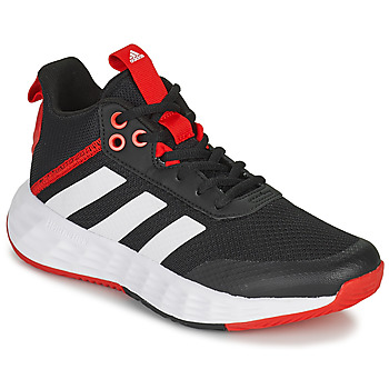 Chaussures Enfant Basketball adidas Performance OWNTHEGAME 2.0 K Noir / Rouge