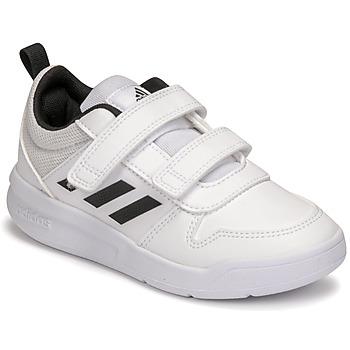 Chaussures Enfant Baskets basses adidas Performance TENSAUR C Blanc / Noir