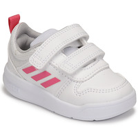 Chaussures Fille Baskets basses adidas Performance TENSAUR I Blanc / Rose