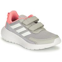 Chaussures Fille Running / trail adidas Performance TENSAUR RUN C Gris / Rose