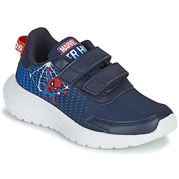 Chaussures Garçon Running / trail adidas Performance TENSAUR RUN C Bleu