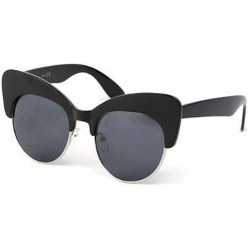 Montres & Bijoux Femme Lunettes de soleil Eye Wear Lunettes Soleil Maryline avec monture noire Noir
