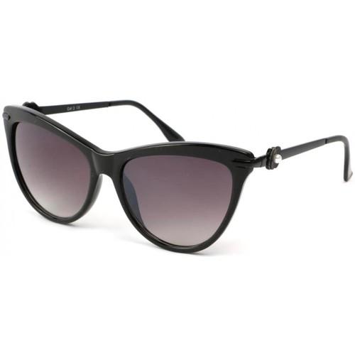 Lunettes de soleil Eye Wear Lunettes Soleil Wave avec monture noire Noir 350x350