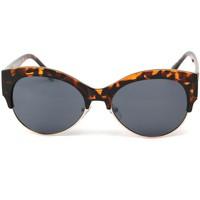 Montres & Bijoux Femme Lunettes de soleil Eye Wear Lunettes Soleil Icare avec monture écaille marron Marron