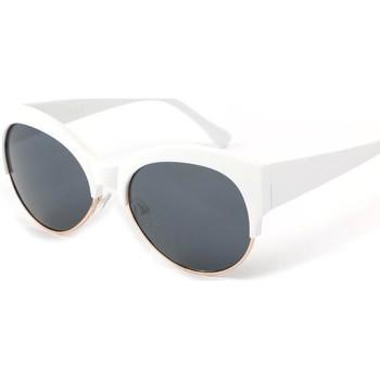 Montres & Bijoux Femme Lunettes de soleil Eye Wear Lunettes Soleil Icare avec monture blanche Blanc