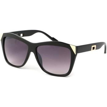 Montres & Bijoux Femme Lunettes de soleil Eye Wear Lunettes Soleil Donna avec monture noire et dorée Noir