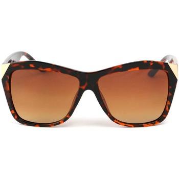 Montres & Bijoux Femme Lunettes de soleil Eye Wear Lunettes Soleil Donna avec monture marron Marron