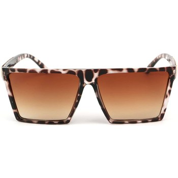 Montres & Bijoux Femme Lunettes de soleil Eye Wear Lunettes Soleil Cuba avec monture Leopard Marron