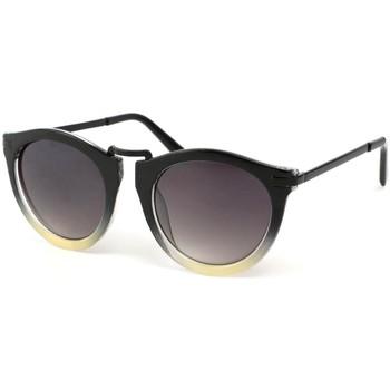 Montres & Bijoux Femme Lunettes de soleil Eye Wear Lunette Soleil Rosita avec monture Noire et Grise Noir