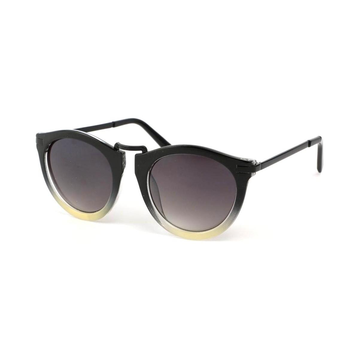 Eye Wear Lunette Soleil Rosita avec monture Noire et Grise Noir