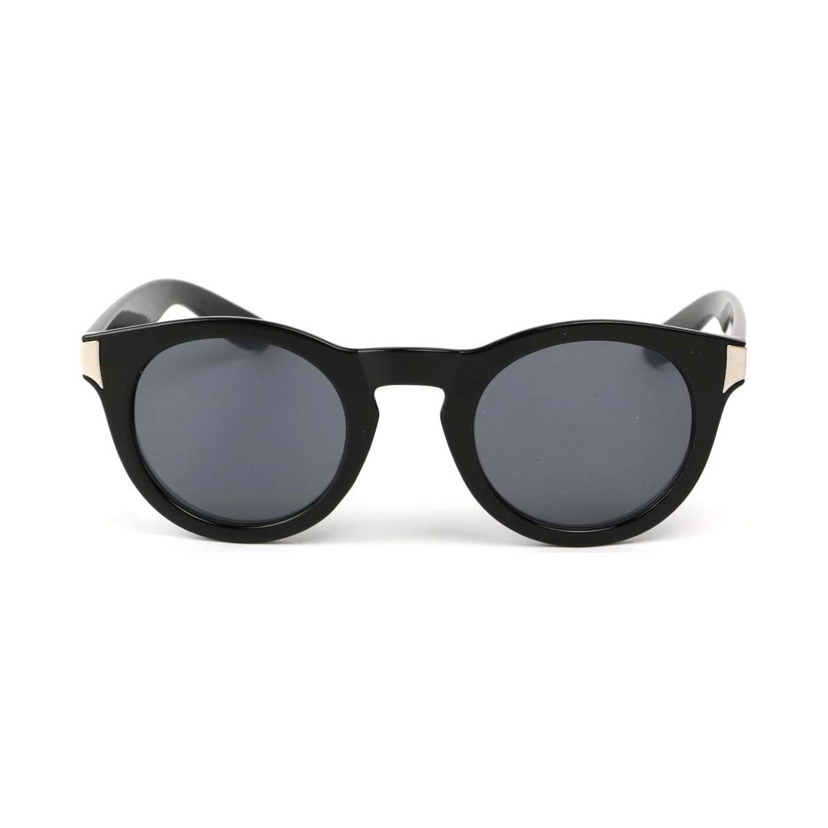 Eye Wear Lunettes Soleil Really avec monture noire Noir