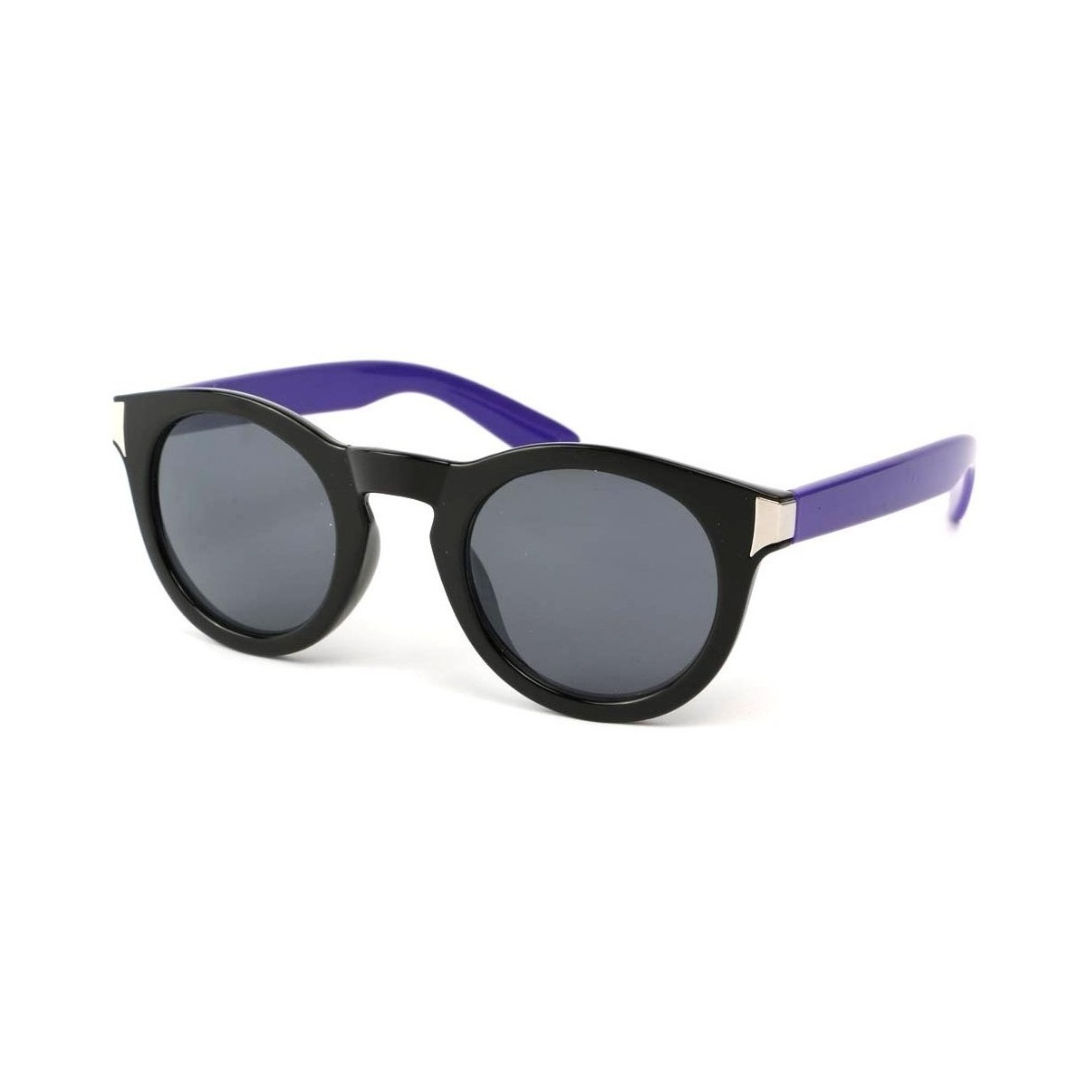 Eye Wear Lunettes Soleil Really avec monture noire et Violette Noir