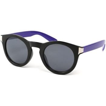 Lunettes de soleil Eye Wear Lunettes Soleil Really avec monture noire et Violette Noir 350x350