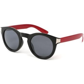 Montres & Bijoux Femme Lunettes de soleil Eye Wear Lunettes Soleil Really avec monture Noire et Rouge Noir