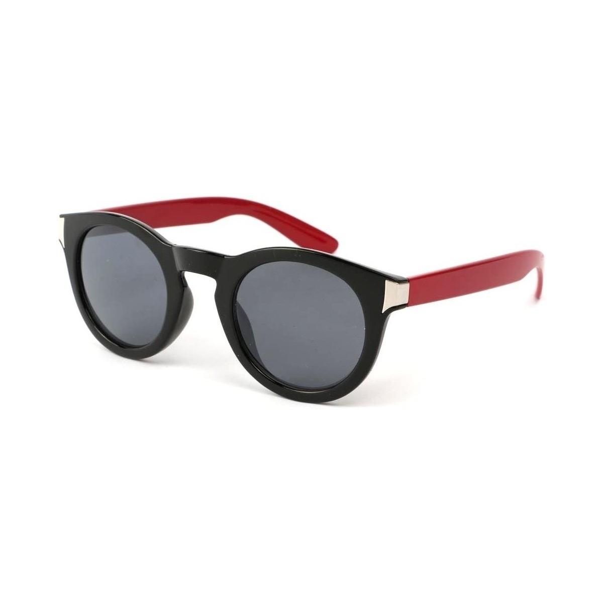 Eye Wear Lunettes Soleil Really avec monture Noire et Rouge Noir