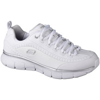 Chaussures Femme Baskets basses Skechers Synergy 3.0 Blanc
