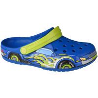 Chaussures Enfant Sabots Crocs Fun Lab Truck Band Clog Bleu