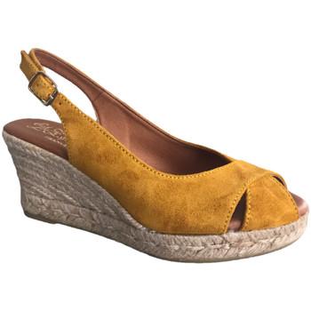 Chaussures Femme Sandales et Nu-pieds La Maison De L'espadrille 809-3 Moutarde