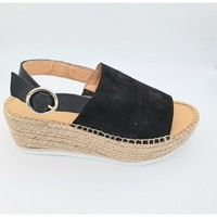 Chaussures Femme Sandales et Nu-pieds Maypol TEKA11-BSL SANDALE CORDE Noir